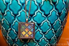 Pendentif Céramiques de l'Alhambra - Idée cadeau pour femme - Marseille