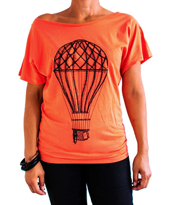 T-shirt Montgolfiere Corail - Marseille