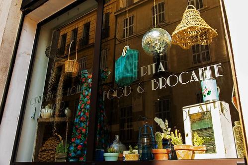 Rita Food et Brocante - Concept Store au Panier à Marseille