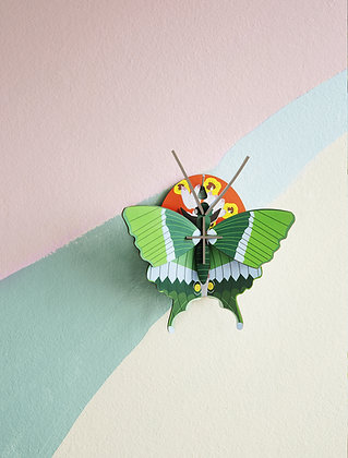 Puzzle 3D Papillon vert - Déco murale Studio Roof - Marseille