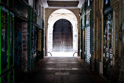 Le passage Lorette au Panier Marseille