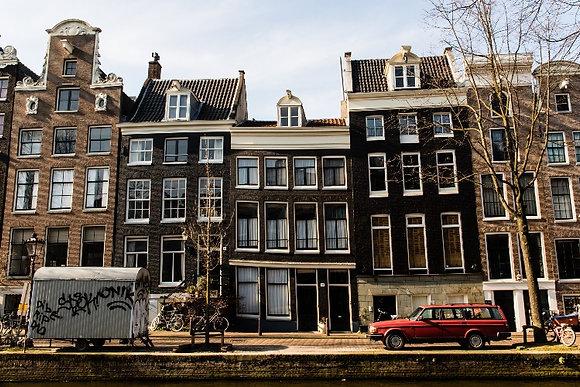 Photographie Amsterdam   Trois Fenêtres
