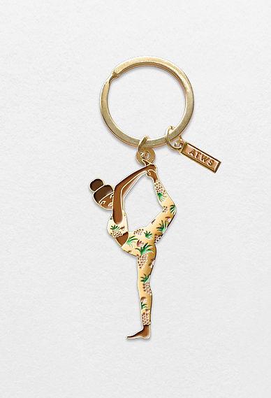 Porte-clé femme