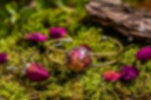 Bracelet en fleur de rose - Bijou très romantique pour offrir - En vente à Marseille et sur internet
