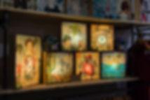 Lightbox illustrée - boutique déco Marseille