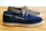 Chaussures pour homme - espadrilles en cuir à Marseille - Concept Store Trois Fenêtres