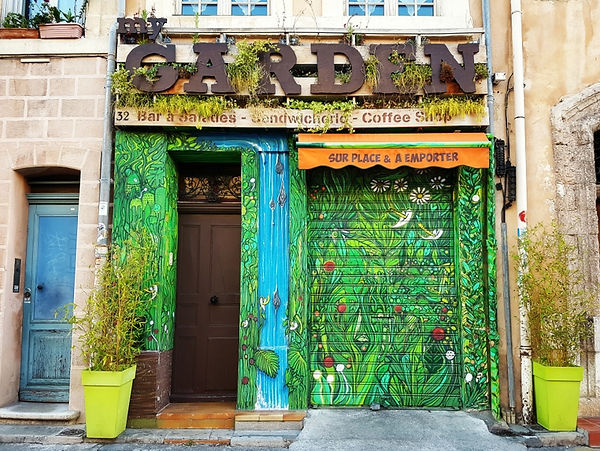 My Garden Marseille - Restaurant au Panier - Bar à salades - Coffee Shop