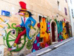 Love - Street Art Panier Marseille - rue des cordelles & rue du petit puits