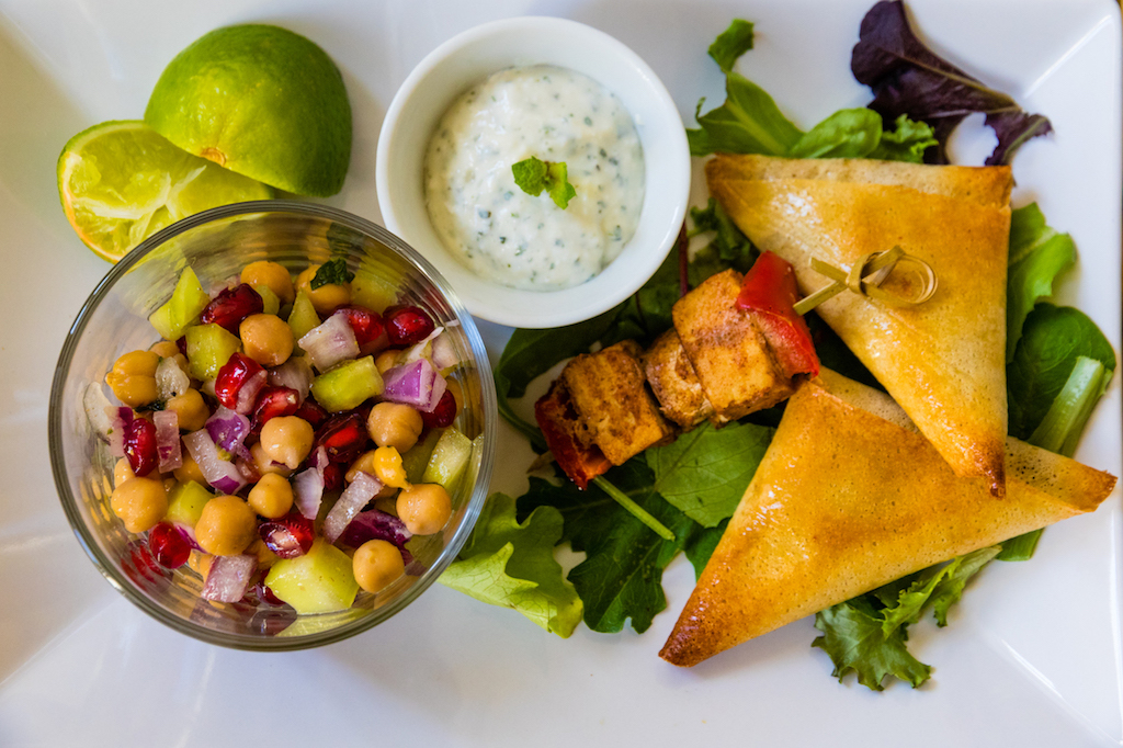 Indian menu Marseille