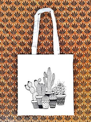 Tote bag Cactus - Marseille - Trois Fenêtres