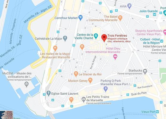 Google maps Trois Fenetres