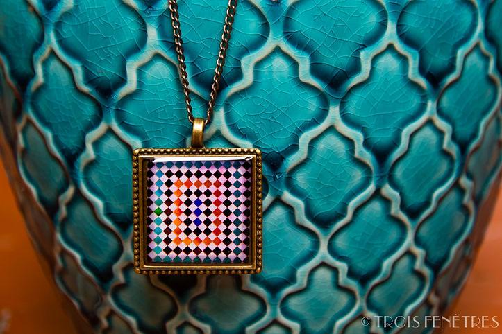 Pendentif Mosaïques Alhambra