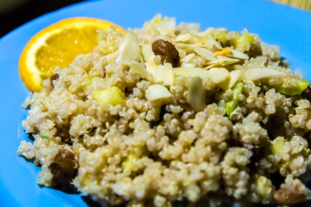 Moroccan style quinoa tabouleh