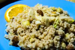 Taboulé quinoa à la marocaine