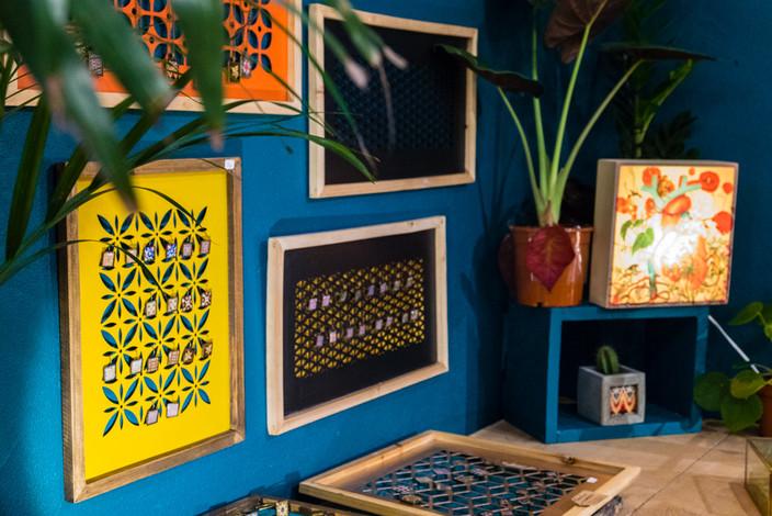 Corner Bijoux Mosaïque - Art déco et Alhambra - Boutique Trois Fenêtres Marseille