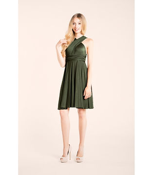 Infinity dress olive