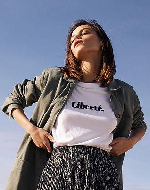 t-shirt femme chic