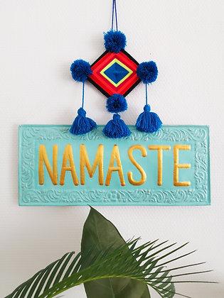 Plaque murale Namaste