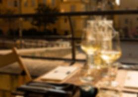 Restaurant Le Refuge du Panier - Vue de la terrasse - Marseille