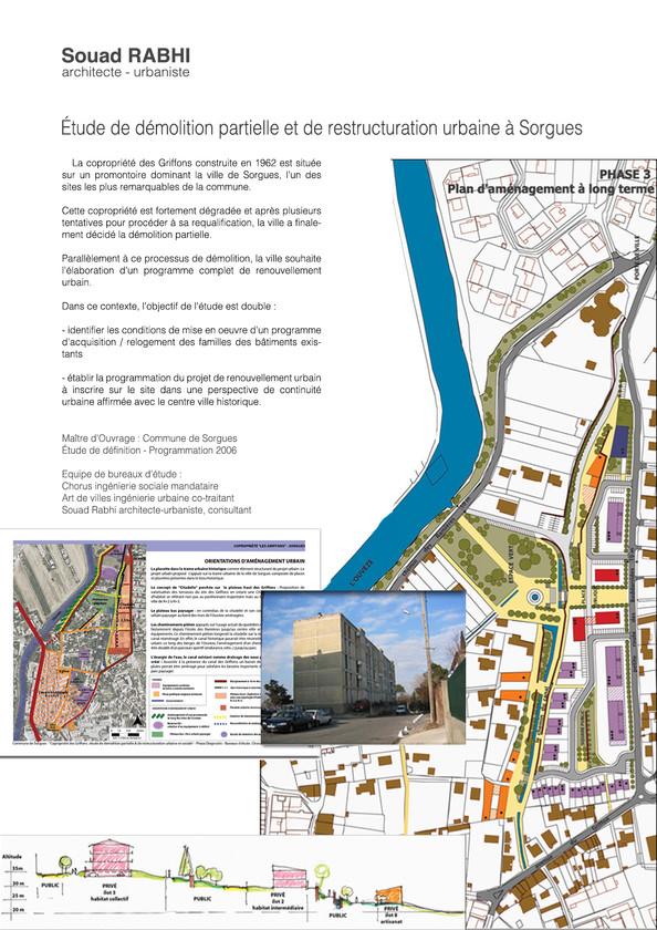Etude sur l'habitat social en qualité d'urbaniste à Sorgues, dans le Vaucluse - Souad Rabhi, architecte, urbaniste