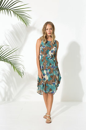 Robe Primavera Choco - Vêtements retro pour femme Totem - Marseille