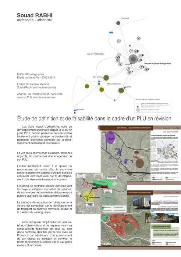 Ecohameau Aix-en-Provence - Souad Rabhi, urbaniste
