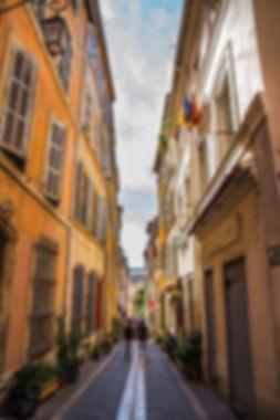 La rue du Panier à Marseille