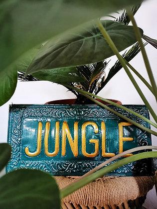 Plaque murale Jungle - Marseille - Trois Fenêtres