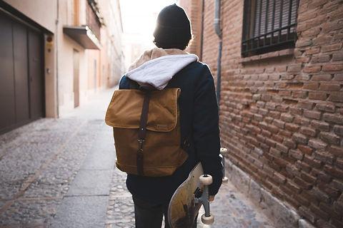 Sac à dos homme vintage - sac à dos de ville - Fait main - Boutique de cadeaux Marseille