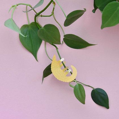 Pangolin metal decoration - Bijoux de plantes - Déco intérieure - Objet déco | Marseille