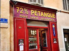 Shopping- Sortir Marseille - 72% Petanqu