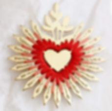 Coeur Flamboyant - Univers Frida Kahlo (