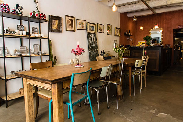 Intérieur restaurant Ahwash - Le Panier de Marseille