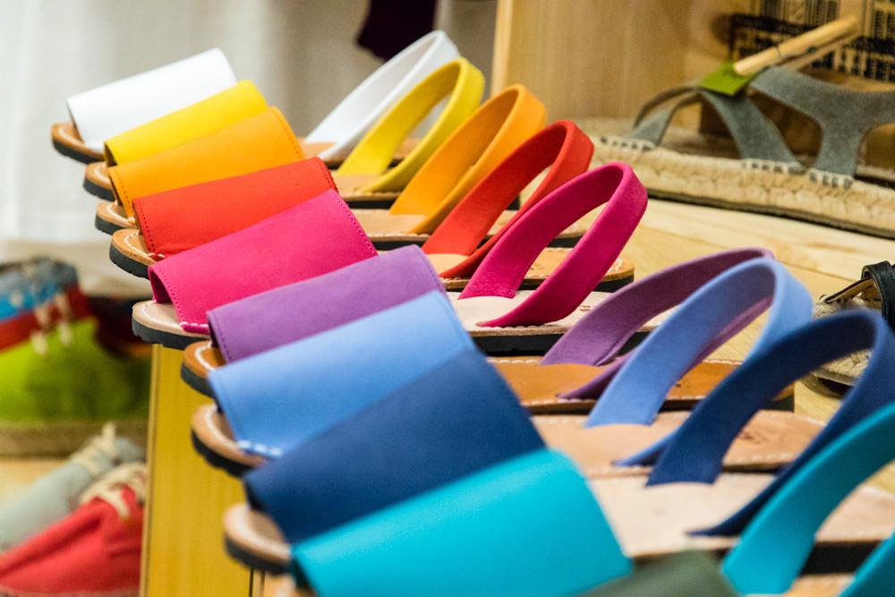 Sandales en cuir pour femme minorquines avarcas - Trois Fenêtres - Concept store Marseille