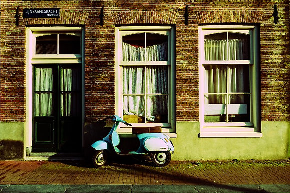 Photographie Trois Fenêtres Amsterdam