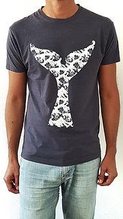 T-shirt bleu homme - idee cadeau homme - Cadeau amoureux de la mer - Idée cadeau Noel Marseille