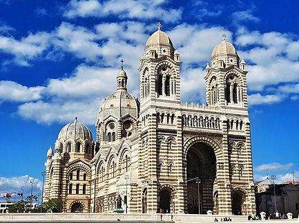 La cathédrale de la Major au Panier Marseille