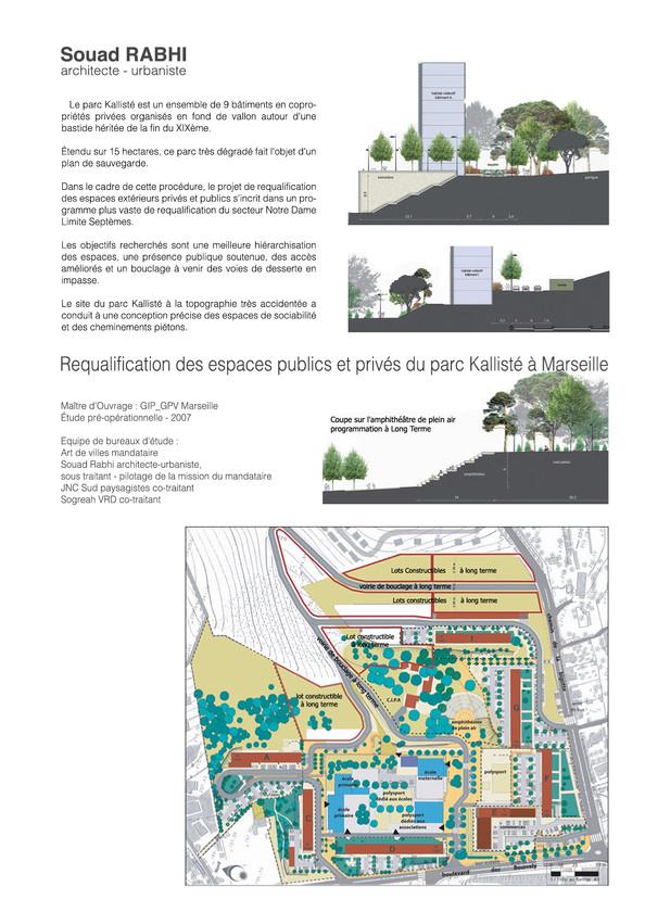 Qualification espace public en qualité d'urbaniste à Marseille - Souad Rabhi