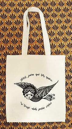 Tote bag Frida Kahlo - Inspiration mexicaine - Trois Fenêtres Marseille