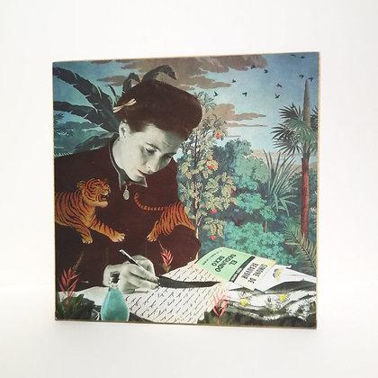 Lampe Simone de Beauvoir - Boite à lumière pour une décoration feministe originale - Marseille