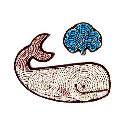 Broche Baleine Moby Dick - Macon & Lesquoy - Marseille