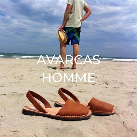 Sandales minorquines homme