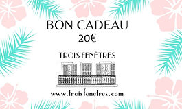 e-carte cadeau à imprimer 20 euros - Carte cadeau en ligne - Marseille