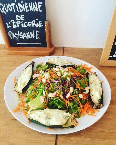 Salades chez My Garden Marseille - Le Panier de Marseille