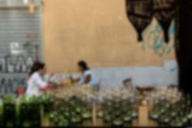 Vue sur la terrase de l'Ahwash - Le Panier de Marseille