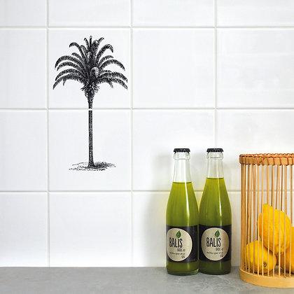 Sticker carrelage Cocotier - Autocollants Palmier pour carrelage - Marseille