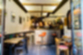 Bar Le Barjac au Panier à Marseille - Vue intérieur comptoir