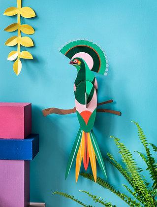 Oiseau tropical Gili - Déco tropicale Studio Roof - Puzzle 3D - Marseille