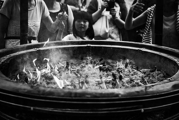 Photographie offrande Tokyo - Japon - 2015
