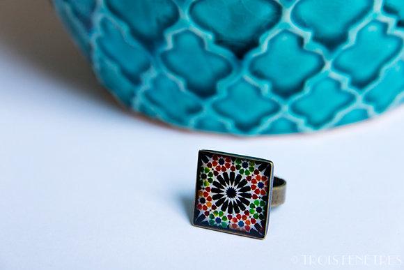 Bague Mosaique de l'Alhambra